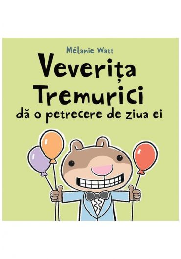 Veverita Tremurici da o petrecere de ziua ei