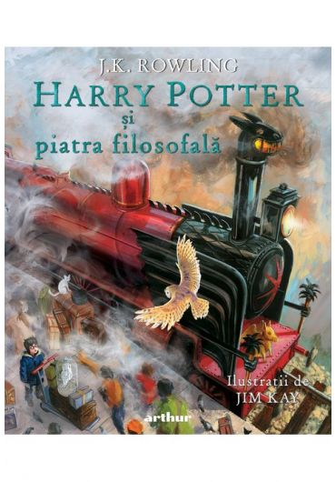 Harry Potter si piatra filosofala - Vol. 1 - editie ilustrata