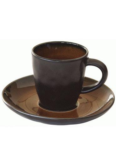 Ceasca espresso cu farfurioara - Kosmos Rust