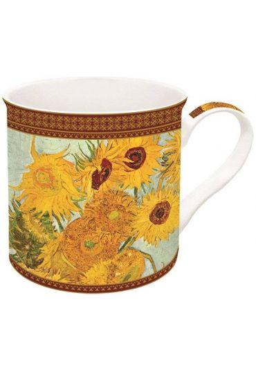 Cana portelan - Vase With Twelve Sunflowers Van Gogh