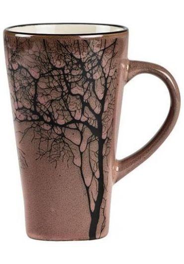 Cana ceramica - KJ Tree Dark Rose