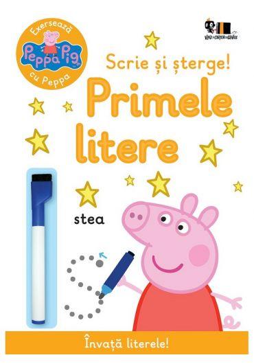Peppa Pig: Exerseaza cu Peppa. Scrie si sterge! Primele litere