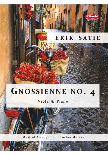 Gnossienne no. 4. Viola & Piano. Partituri