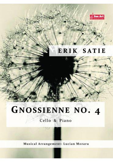 Gnossienne no. 4. Cello & Piano. Partituri