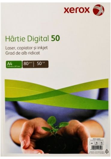 Hartie copiator A4 digital 50coli/top xerox