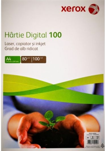 Hartie copiator A4 digital 100coli/top xerox
