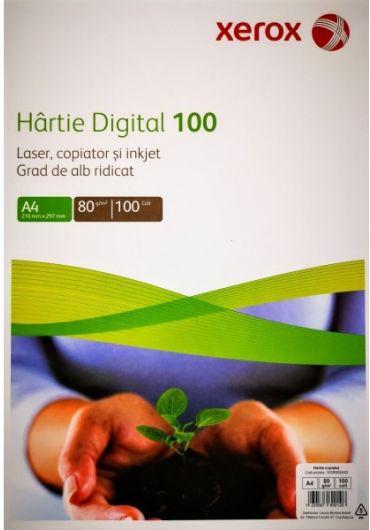 Hartie copiator A4 digital 100coli/top xerox