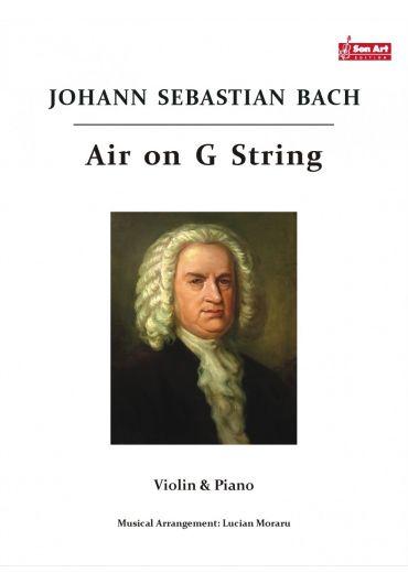 Air on G - String. Violin & Piano. Partituri