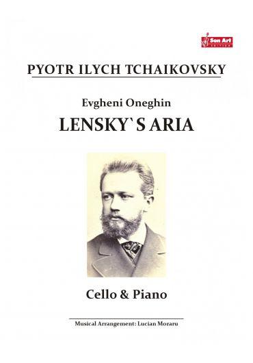 Lensky's Aria. Cello & Piano. Partituri