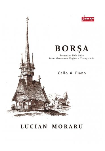 Borsa. Cello & Piano. Partituri