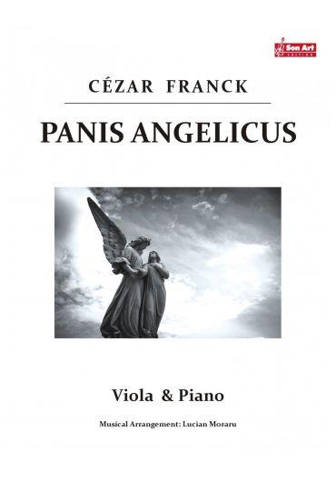 Panis Angelicus. Viola & Piano. Partituri