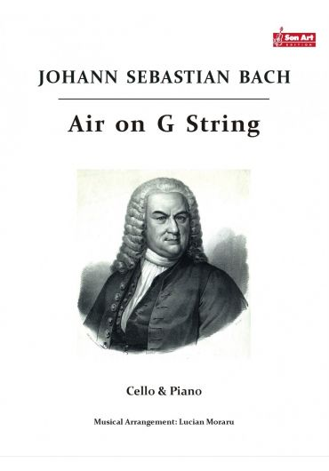 Air on G - String. Cello & Piano. Partituri
