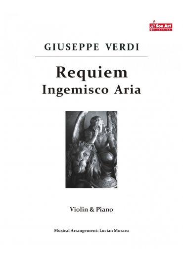 Ingemisco Aria. Violin & Piano. Partituri