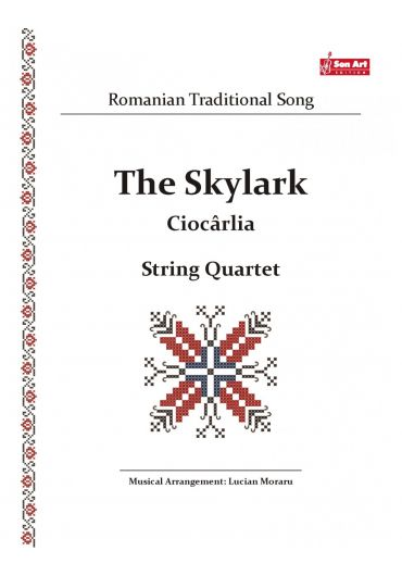 The Sky Lark - Ciocarlia. String quartet. Partituri