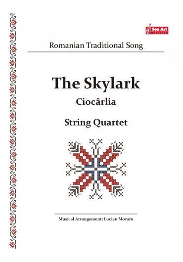 The Sky Lark - Ciocarlia. String quartet. Partituri