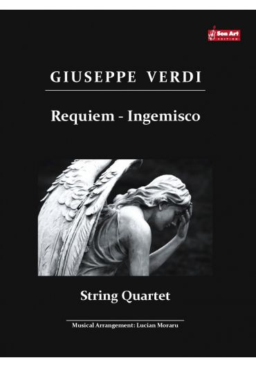 Ingemisco Aria. String quartet. Partituri