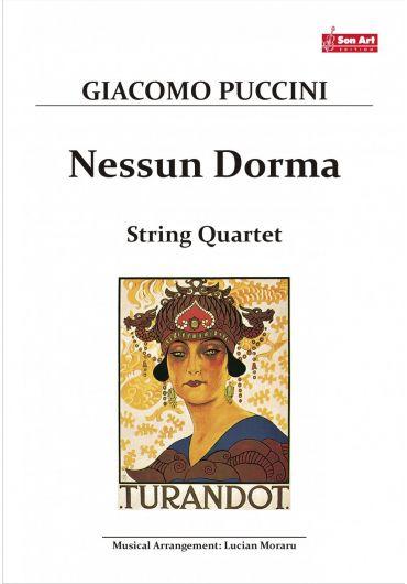Nessun Dorma. String quartet. Partituri