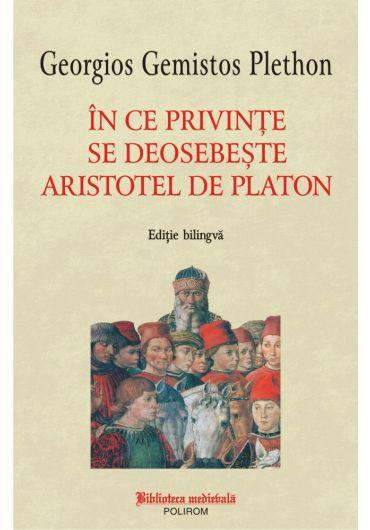 In ce privinte se deosebeste Aristotel de Platon