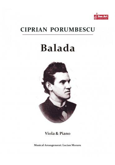 Balada. Viola & Piano. Partituri