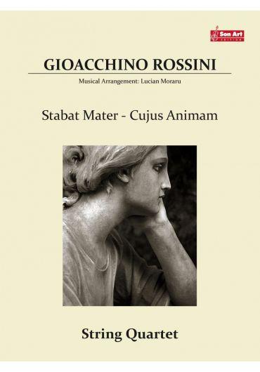 Cujus Animam. String quartet. Partituri