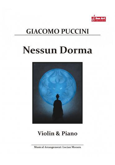 Nessun Dorma. Violin & Piano. Partituri