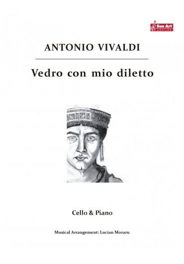 Vedro con mio diletto. Cello & Piano. Partituri
