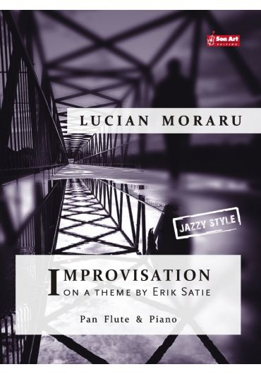 Improvisation on a theme by Erik Satie. Pan Flute & Piano. Partituri
