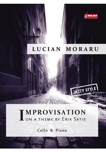 Improvisation on a theme by Erik Satie. Cello & Piano. Partituri