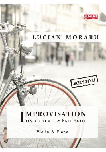Improvisation on a theme by Erik Satie. Violin & Piano. Partituri
