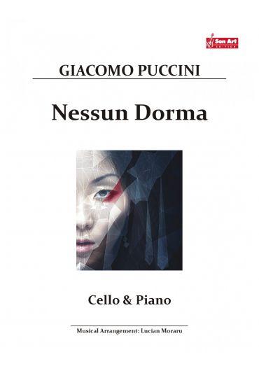 Nessun Dorma. Cello & Piano. Partituri