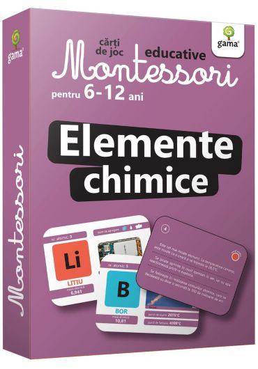 Elemente chimice. Carti de joc Montessori pentru 6-12 ani