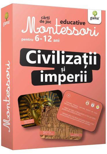 Civilizatii si imperii. Carti de joc Montessori pentru 6-12 ani