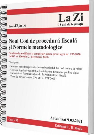 Noul Cod de procedura fiscala si Normele metodologice. Actualizat 9.03.2021