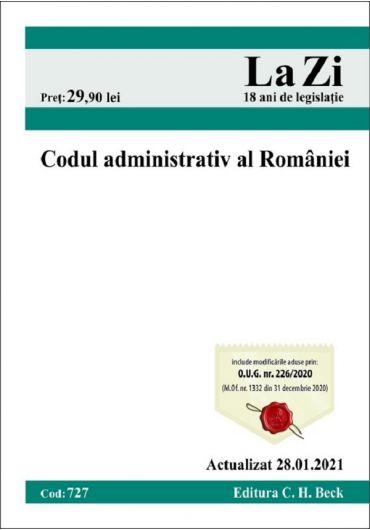 Codul administrativ al Romaniei. Actualizat 28.01.2021