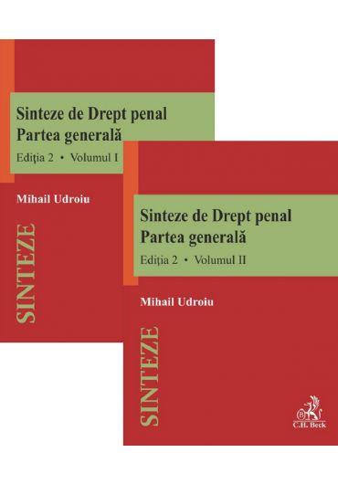 Sinteze de drept penal. Partea generala, vol. 1+2, ed. 2