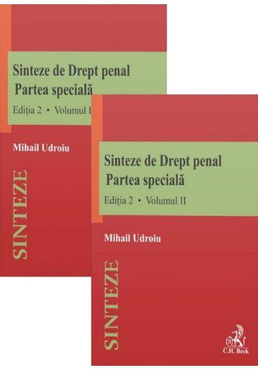 Sinteze de drept penal. Partea speciala, vol. 1+2, ed. 2