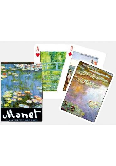 Carti de joc Monet