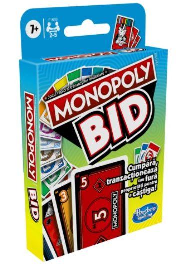 Joc de carti Monopoly Bid