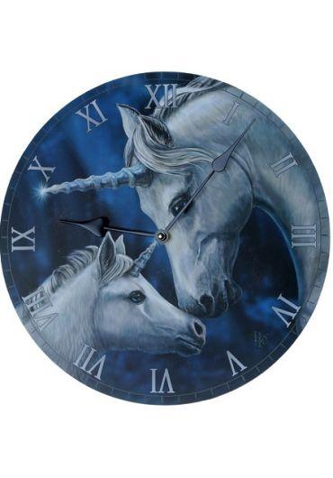 Ceas de perete - Lisa Parker Sacred Love Unicorn Picture