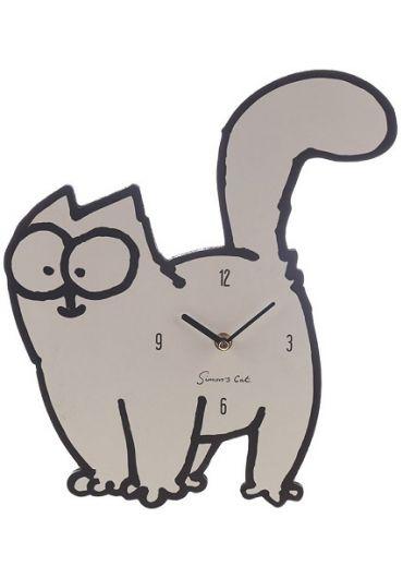 Ceas de perete - Simon's Cat Shaped Picture