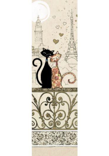 Semn de carte - Chats Tour Eiffel