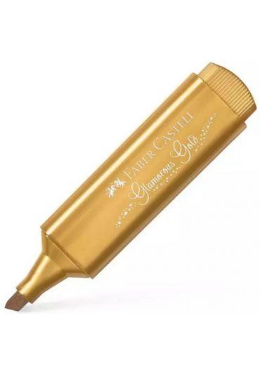 Textmarker metalizat Glamorous Gold