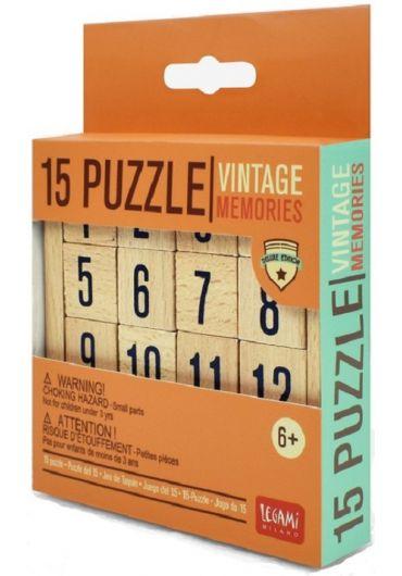 Puzzle din lemn - Vintage Memories