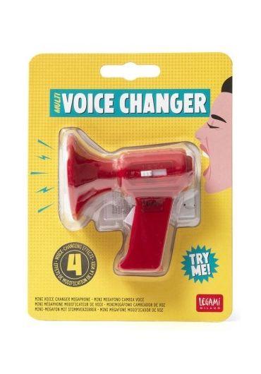 Mini megafon cu schimbator de voce - Voice Changer Megaphone Red