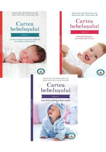 Pachet Cartea bebelusului, vol. 1+2+3