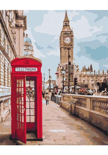 Set Picturi pe numere, Acuarello, 40X50 cm - London
