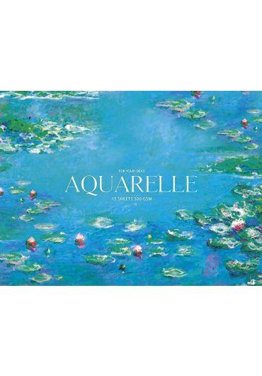 Bloc de desen Aquarelle A4+ 15 file Aquarelle