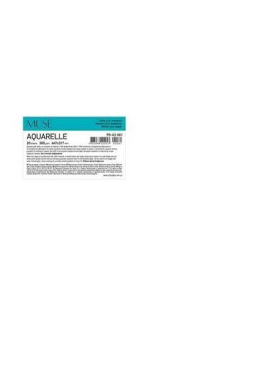 Set coli pentru desen A3+ 20 file Muse Aquarelle