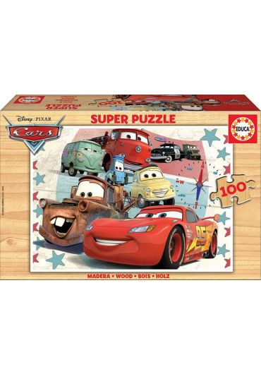 Puzzle 100 piese Cars