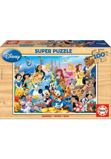 Puzzle 100 piese The Wonderful World of Disney